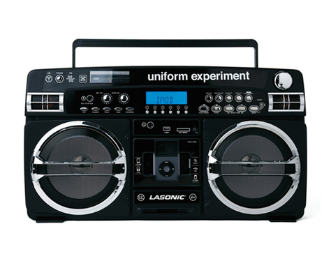 LASONIC BOOMBOX UNIFORM EXPERIMENT